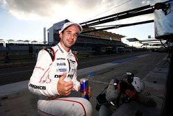 Le poleman Neel Jani, Porsche Team