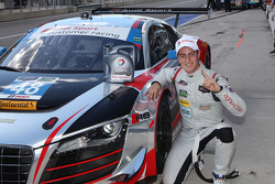 GTD ganador de la pole #48 Paul Miller Racing Audi R8 LMS: Christopher Haase, Dion von Moltke