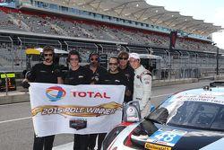 GTD polesitter #48 Paul Miller Racing Audi R8 LMS: Christopher Haase, Dion von Moltke