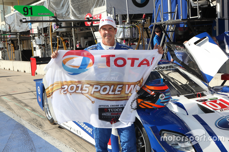 Prototypen-Polesitter #01 Chip Ganassi Racing Ford/Riley: Scott Pruett, Joey Hand