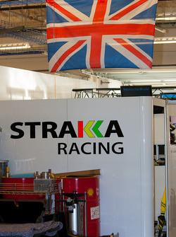 Strakka Racing team area