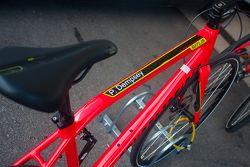 Le vélo de Patrick Dempsey