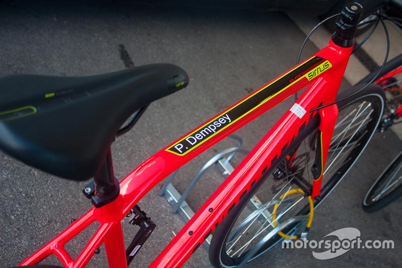 Патрік Демпсі's bicycle