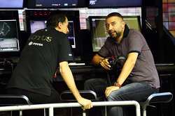 Federico Gastaldi, Lotus F1 Team Deputy Team Principal with Gerard Lopez, Lotus F1 Team Principal