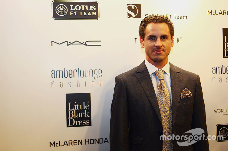 Adrian Sutil, Pilote d'essais et de réserve Williams à l'Amber Lounge Fashion Show