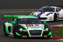 #24 Team Parker Racing Audi R8 LMS ultra: Ian Loggie, Julian Westwood
