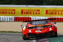#20 Akka ASP Ferrari 458 Italia: Morgan Moulin Traffort, Tristan Vautier, Alessandro PierGuidi