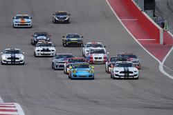 GS race start