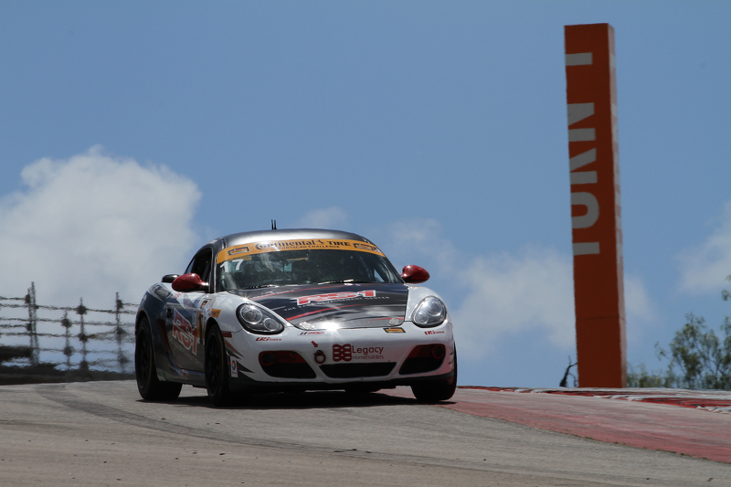 #17 RS1 Porsche Cayman: Spencer Pumpelly, Luis Rodriguez Jr.