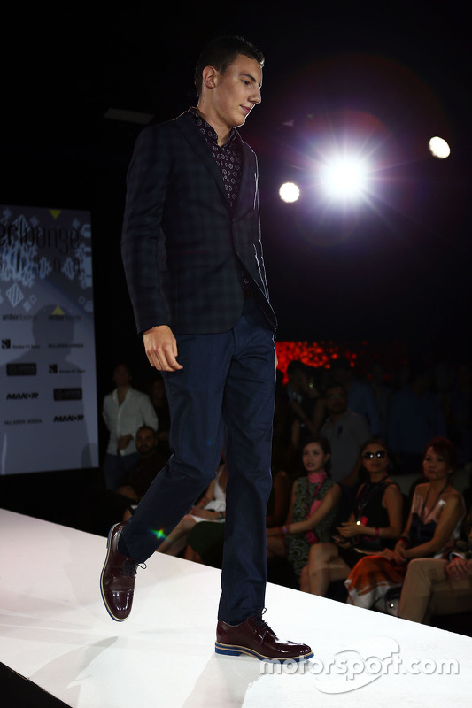 Raffaele Marciello, Sauber F1 Team Test And Reserve Driver at the Amber Lounge Fashion Show