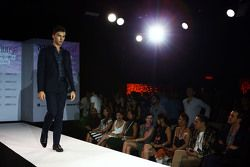 Pierre Gasly, Tester e pilota di riserva Red Bull Racing all'Amber Lounge Fashion Show