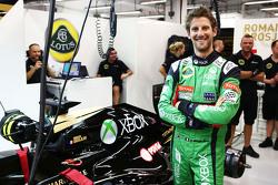 Ромен Грожан, Lotus F1 Team и реклама Xbox