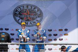 Overall winners #01 Chip Ganassi Racing Ford/Riley: Scott Pruett, Joey Hand