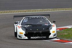 #17 Insight Racing Denmark Ferrari 458 Italia: Dennis Andersen, Martin Jensen