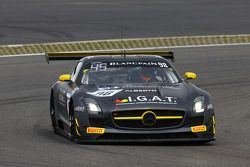 #98 Rowe Racing Mercedes SLS AMG GT3 : Kenneth Heyer, Miguel Toril, Nicolai Sylvest