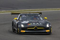#98 Rowe Racing Mercedes SLS AMG GT3 : Kenneth Heyer, Miguel Toril, Nicolai Sylvest