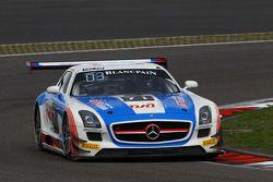 #71 GT Russian Team Mercedes SLS AMG GT3: Alexey Vasilyev, Marko Asmer, Karim Al Azhari