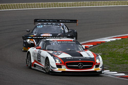 #33 Car Collection Motorsport Mercedes SLS AMG GT3: Daniel Allemann, Peter Schmidt, Karl Wendlinger