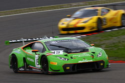 #19 GRT Grasser Racing Team Lamborghini Huracan : Andrew Palmer, Fabio Babini, Jeroen Mul