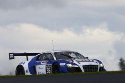 #36 Sainteloc Racing Audi R8 LMS Ultra: Gilles Lallement, Marc Rostan, Grégoire Demoustier