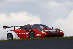 #16 Akka ASP Ferrari 458 Italia : Anthony Pons, Fabien Bathez