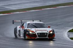 #6 Phoenix Racing Audi R8 LMS ultra : Marchy Lee, Shaun Thong, Markus Winkelhock
