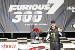Ganador de la carrerar Kyle Busch, Joe Gibbs Racing Toyota
