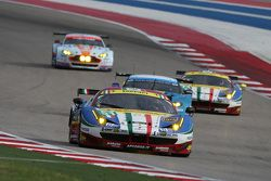 AF Corse车队法拉利458 GTE赛车:吉安玛利亚·布鲁尼、托尼·维兰德