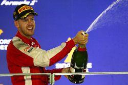 kazanan Sebastian Vettel, Ferrari