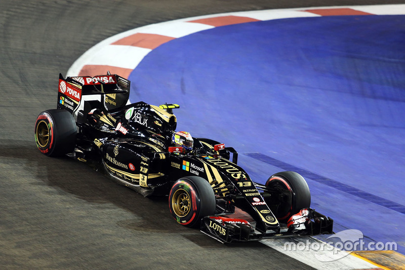 GP de Singapour 2015 Carrera
