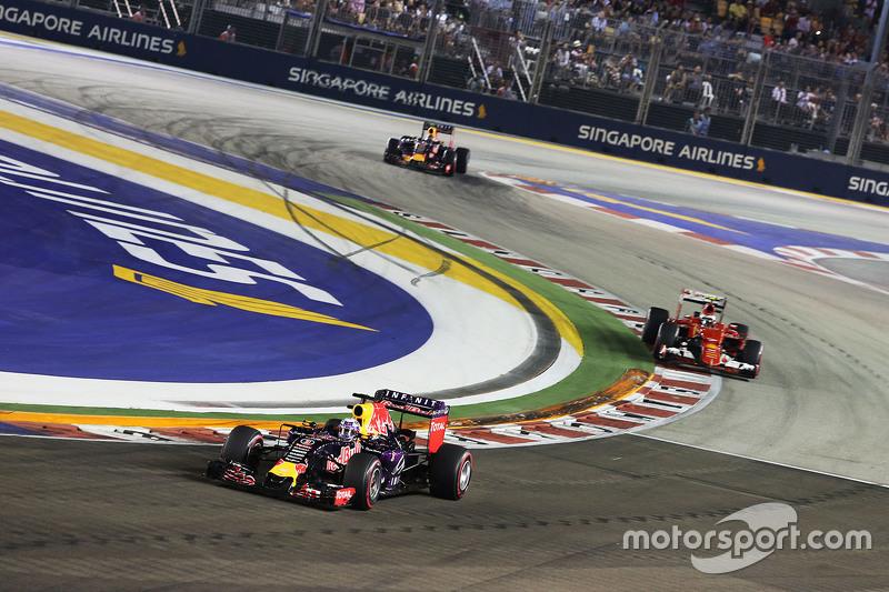 2015, GP Singapore: Tweede plek één van weinige hoogtepunten dat jaar