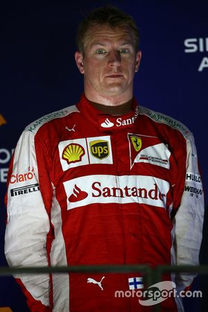 Üçüncü Kimi Raikkonen, Ferrari
