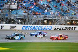 Benny Gordon y Elliott Sadler, Roush Fenway Racing Ford and Michael Self, Chevrolet