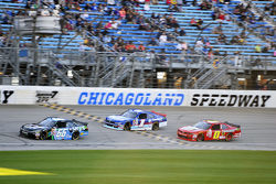 Benny Gordon and Elliott Sadler, Roush Fenway Racing Ford and Michael Self, Chevrolet