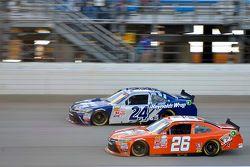 T.J. Bell, JGL Racing Toyota y Eric McClure, JGL Racing Toyota