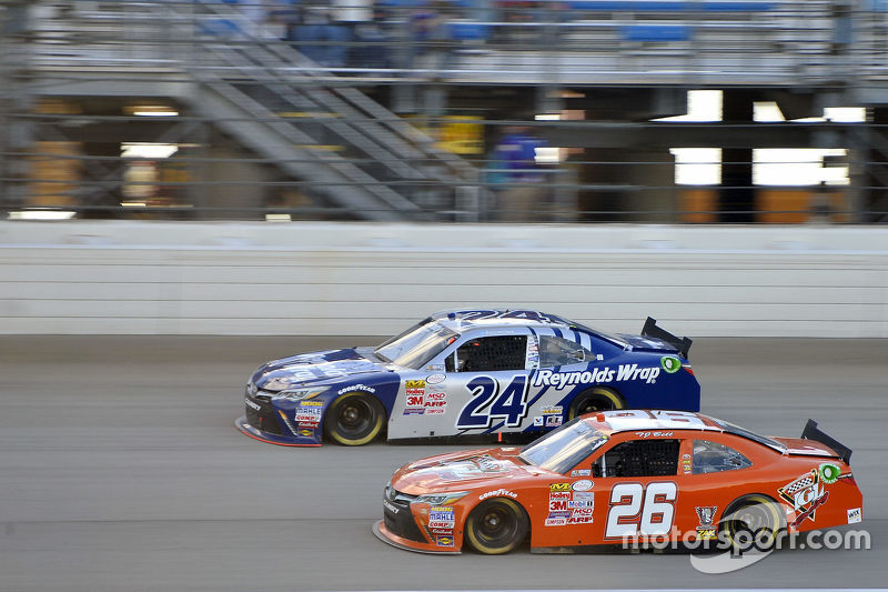 T.J. Bell, JGL Racing Toyota and Eric McClure, JGL Racing Toyota
