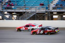 Darrell Wallace Jr., Roush Fenway Racing Ford y Ryan Reed, Roush Fenway Racing Ford