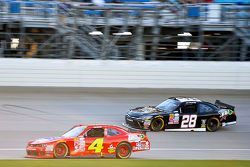 Ross Chastain, JD Motorsports Chevrolet and J.J. Yeley, JGL Racing Toyota
