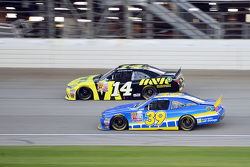 Ty Dillon, Richard Childress Racing ChevroletChase Elliott, JR Motorsports Chevrolet and Cale Conley