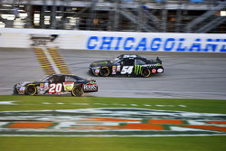Matt Kenseth, Joe Gibbs Racing Toyota e Kyle Busch, Joe Gibbs Racing Toyota