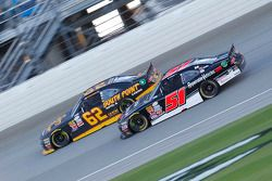 Jeremy Clements, Jeremy Clements Racing Chevolet and Brendan Gaughan, Richard Childress Racing Chevr