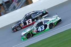 Dakoda Armstrong, Richard Petty Motorsports Ford and Derek White