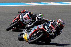 Jordi Torres, Aprilia Racing Team et Leon Haslam, Aprilia Racing Team