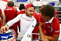 Will Stevens, Manor Marussia F1 Takımı ile Roberto Merhi, Manor Marussia F1 Takımı