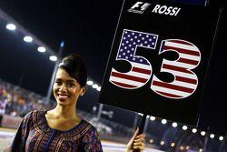 Ombrellina per Alexander Rossi, Manor Marussia F1 Team