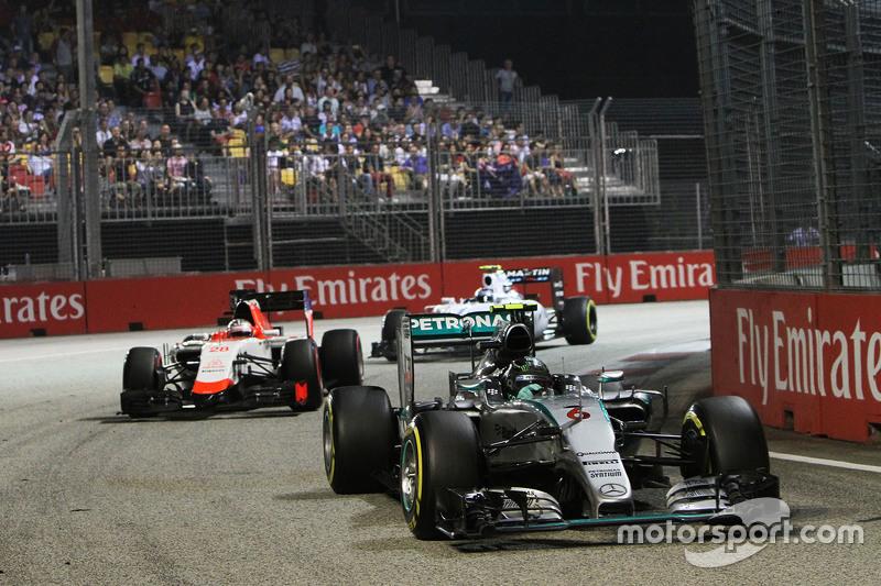 Гран При Сингапура, 20 сентября. Нико Росберг