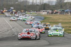Matias Rossi, Donto Racing Chevrolet y Agustin Canapino, Jet Racing Chevrolet y Guillermo Ortelli, J