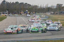 Facundo Ardusso, Trotta Competicion Dodge y Mauro Giallombardo, Maquin Parts Racing Ford y Sergio Al