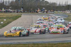 Nicolas Bonelli, Bonelli Competicion Ford and Juan Manuel Silva, Catalan Magni Motorsport Ford and J