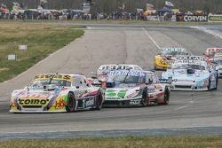 Mauricio Lambiris, Coiro Dole Racing Torino y Mathias Nolesi, Nolesi Competicion Ford y Federico Alo
